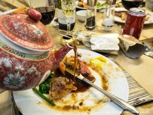 Chinese gravy boat